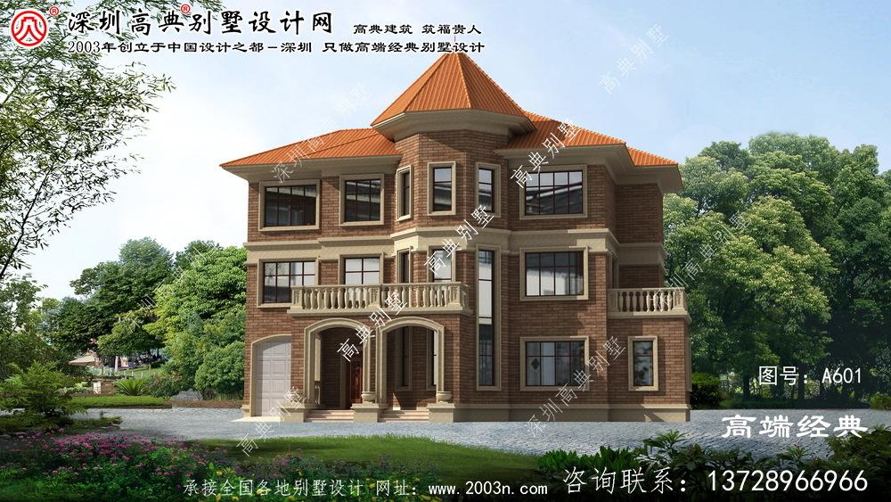五河县经济实惠的三层欧式风格别墅