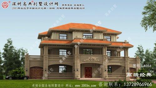 黎川县北方农村房屋设计图