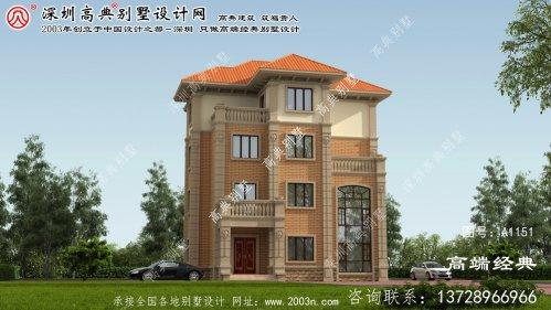 五莲县自建别墅外观设计