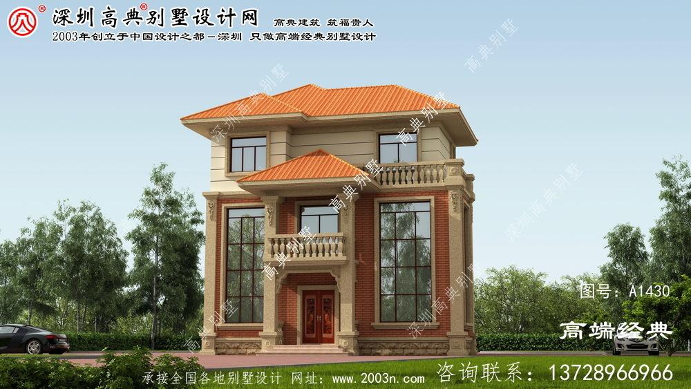 赤城县农村别墅三层室内设计图