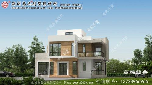 万荣县农村别墅设计图