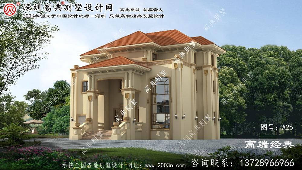 丹东市三层别墅设计图