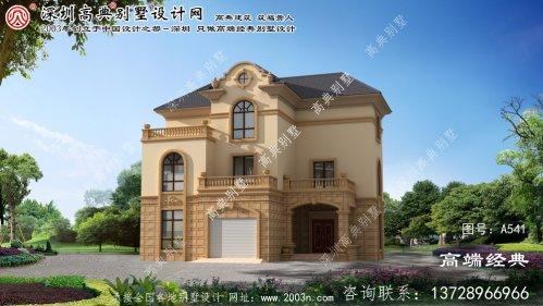 西安区农村建房外观设计图