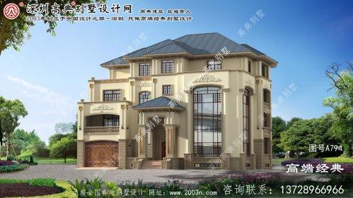 延津县优秀别墅设计图