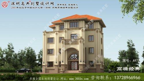 襄阳区别墅平面图设计