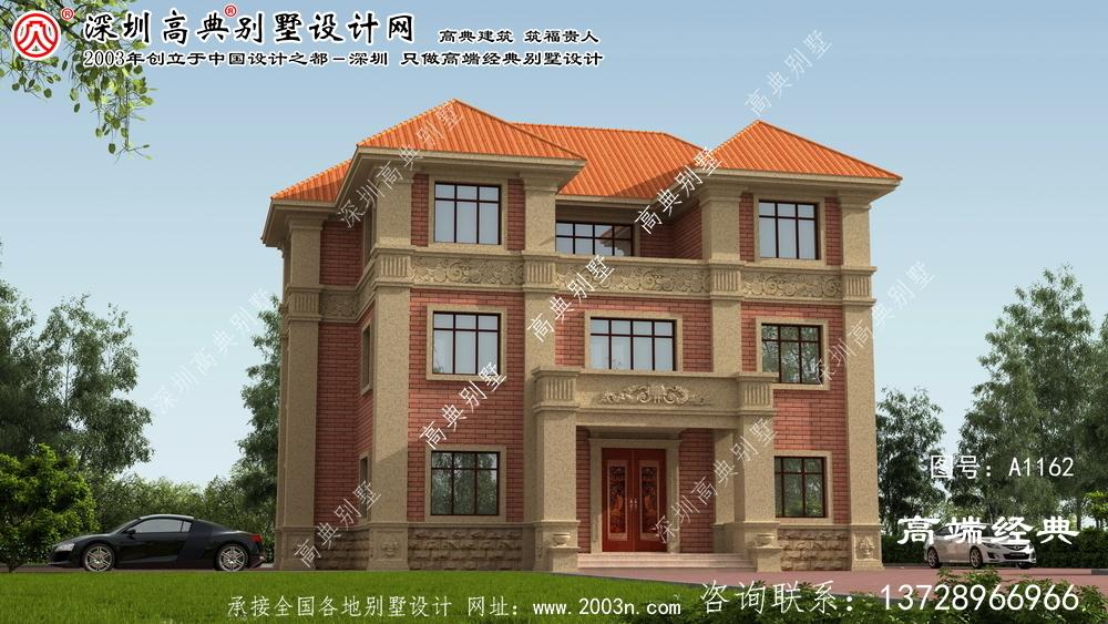 衡阳市平面别墅设计图