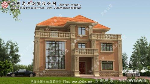 雁峰区3层别墅图纸