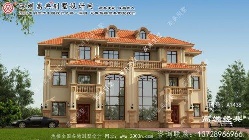 潮安县双层别墅设计图纸
