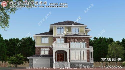 合江县191平米别墅设计图