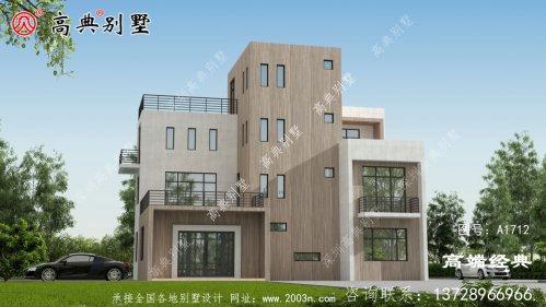 尼玛县农村独栋别墅户型图