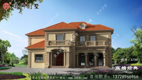 二层199平方别墅设计图