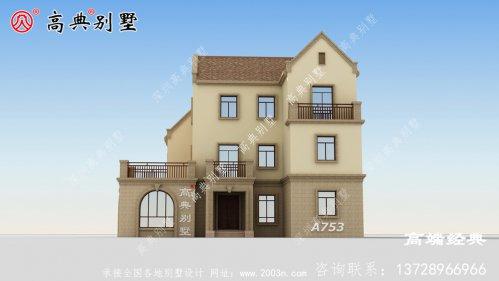 简欧三层小别墅设计图