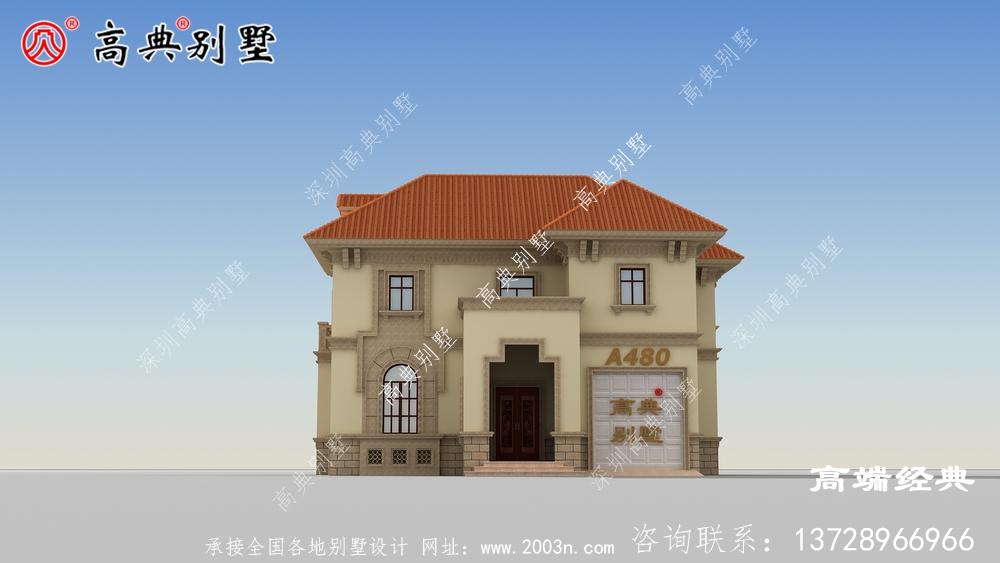 农村二层小型房屋,还在为建不起房烦恼吗?