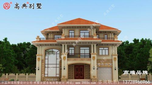 三层别墅效果图完完整整的家
