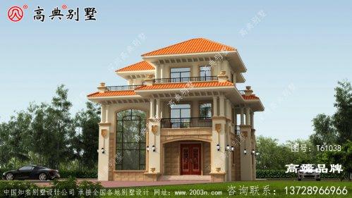 别墅豪宅设计效果图返乡建好房就选这栋