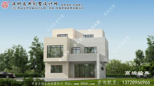 沙雅县十分舒适的现代三层别墅。