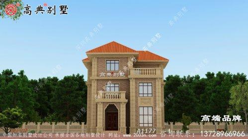 122平米房屋设计图外观优雅