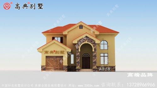 农村自建房图给人极大的舒适感和空间感。