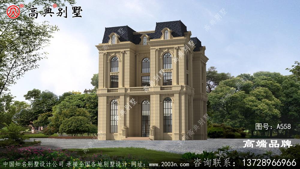 农村房屋设计五层别墅非常的精致