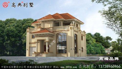 乡村楼房设计建好美出新境界。