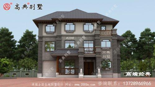 赤水市农村新式三层楼图片,造价最低35万,做村