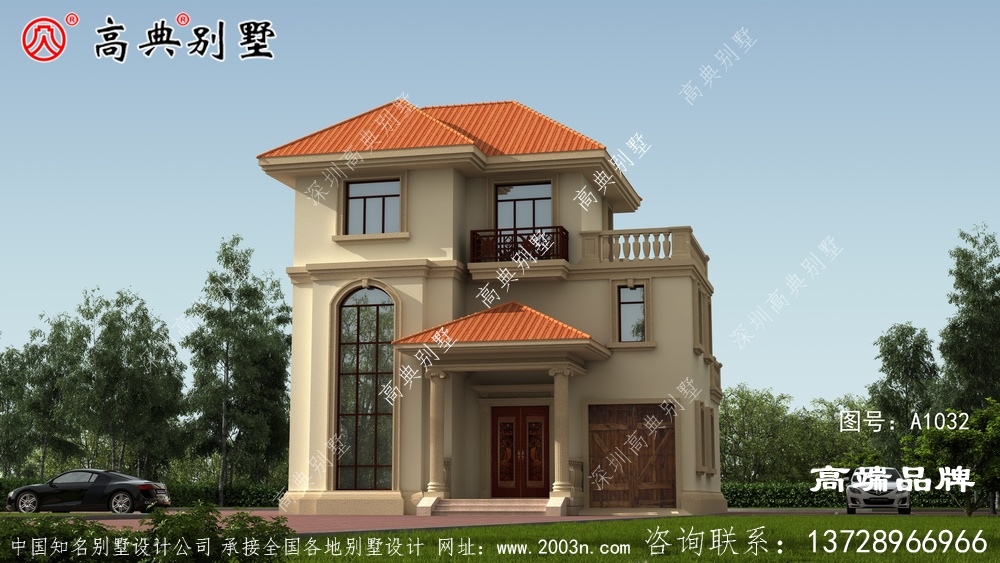 农村房屋设计图大全3层带堂屋