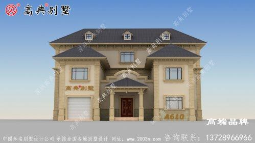 农村两层半自建房图纸有房有院才像家