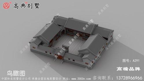 农村楼房设计图奢华典雅,讲究自由