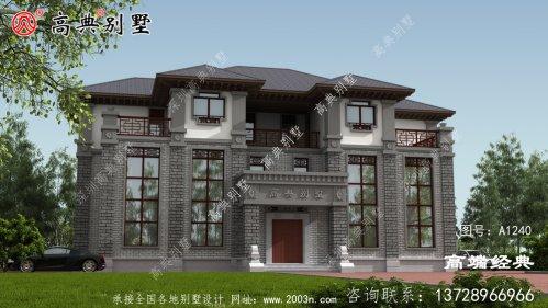 揭阳市三层 住宅设计图 ,很有气派 ,回家 盖上
