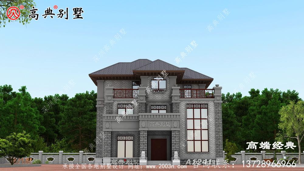 中山市农村自建房真实图,给自己建造一个温馨的家!