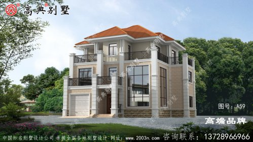 170平方房屋设计图建出来既气派,又美观