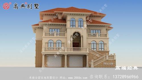 农村大户型别墅看一眼立马就想回家建