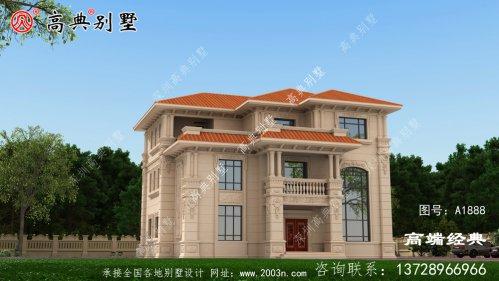 布局宽敞,功能齐全的复式三层别墅