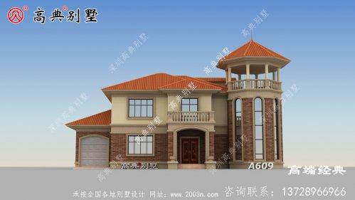 整体设计简单实用,适合农村建房实际。