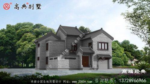 中式简约别墅采光通风,十分漂亮