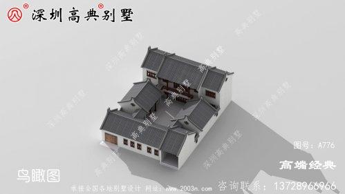 中国最美建筑四合院设计图纸及效果图,