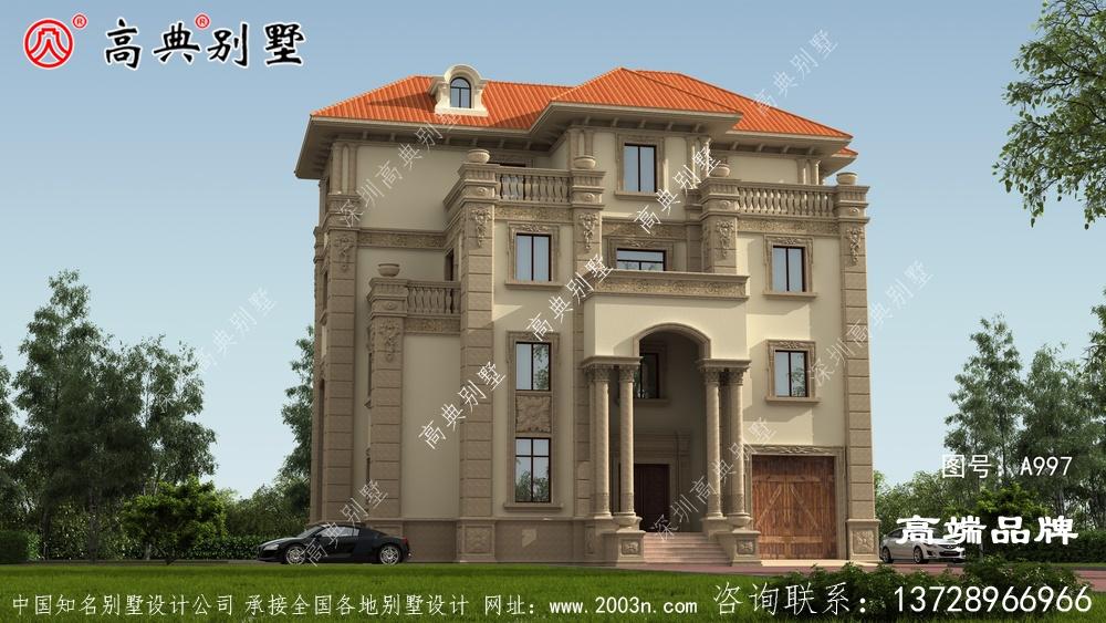 阁楼层设计的比较高,空间也能多方利用,
