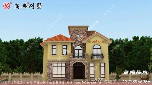 在农村建一款这样的别墅十分划算