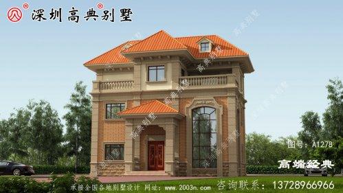 花30万在农村盖了栋豪华别墅,邻居也要建一栋,