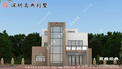 三层农村自建房,造价在35万以内。
