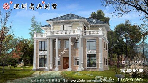 3层别墅设计图,开春就建一栋,抢个好彩头