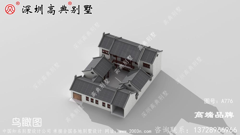 新中式别墅设计,非常适合中国乡村,品味不俗