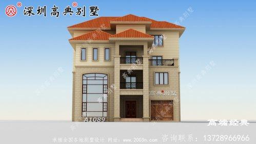 乡村四层好看楼房设计图,比城堡还好看,大家