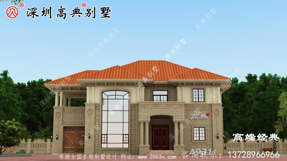 农村普通自营住宅的真实图,为自己建造温暖的房子!