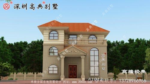农村三层别墅设计图,性价比很高