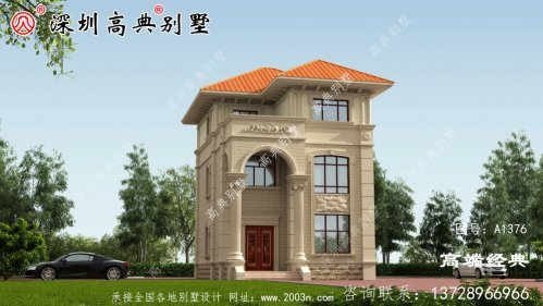 农村二层半楼房图片设计图