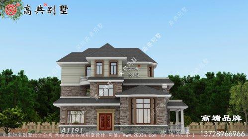 住宅背面采用多窗设计提高住宅的