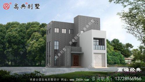 别墅不论大小,只要建的舒适美观